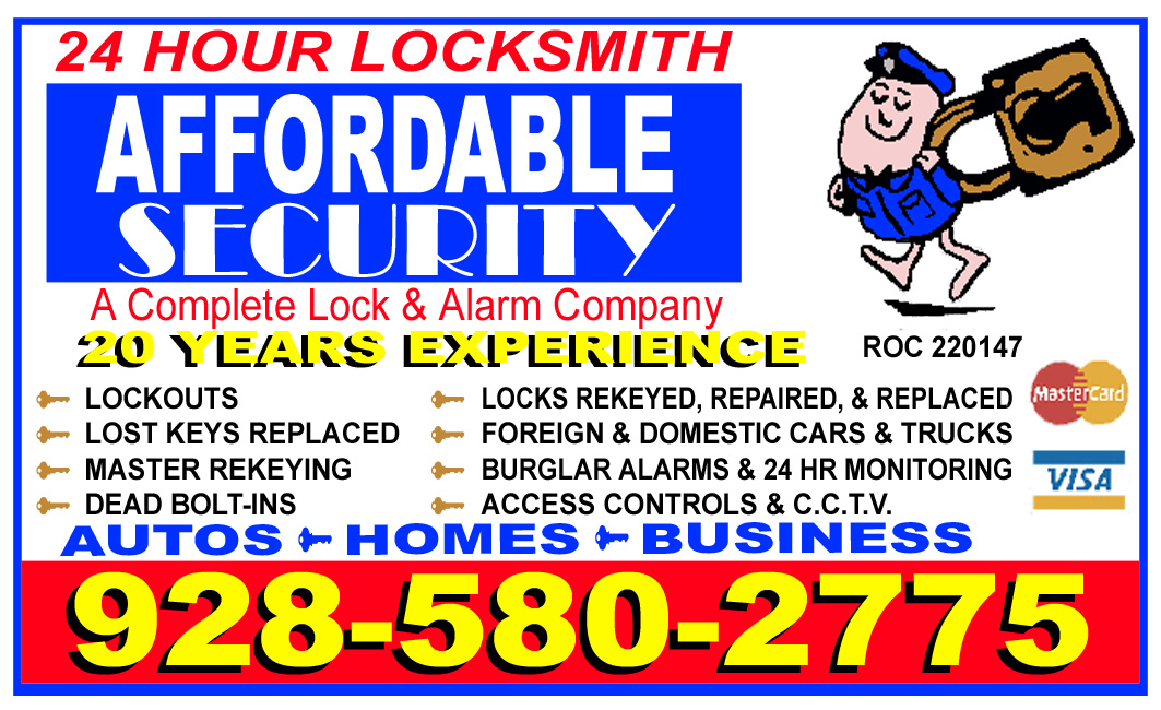 Yuma Locksmith Ad