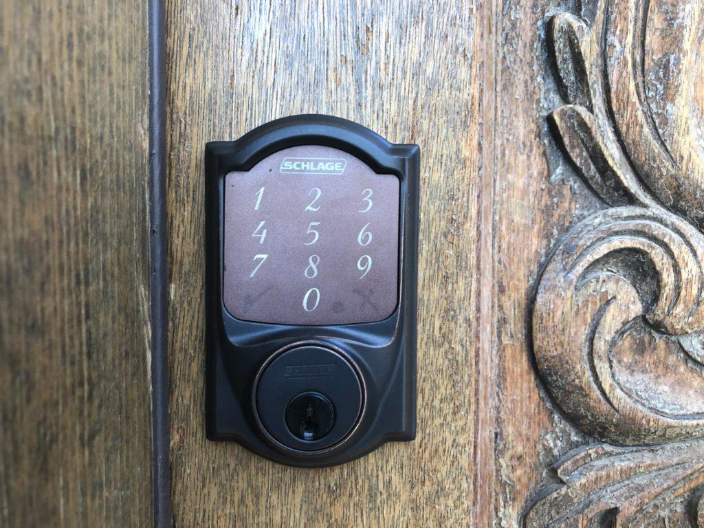 Schlage Smart Lock Installtion